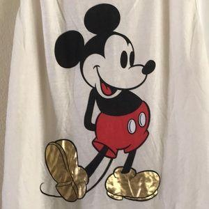 NWOT Mickey Mouse Sleeveless T-shirt tank